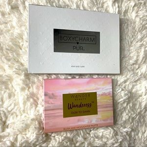 Set of two palettes from Pur and Wander beauty